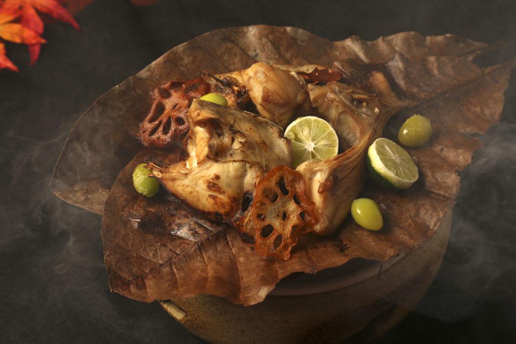 フグのポン酢焼き