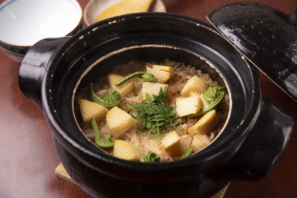 竹の子土鍋ごはん